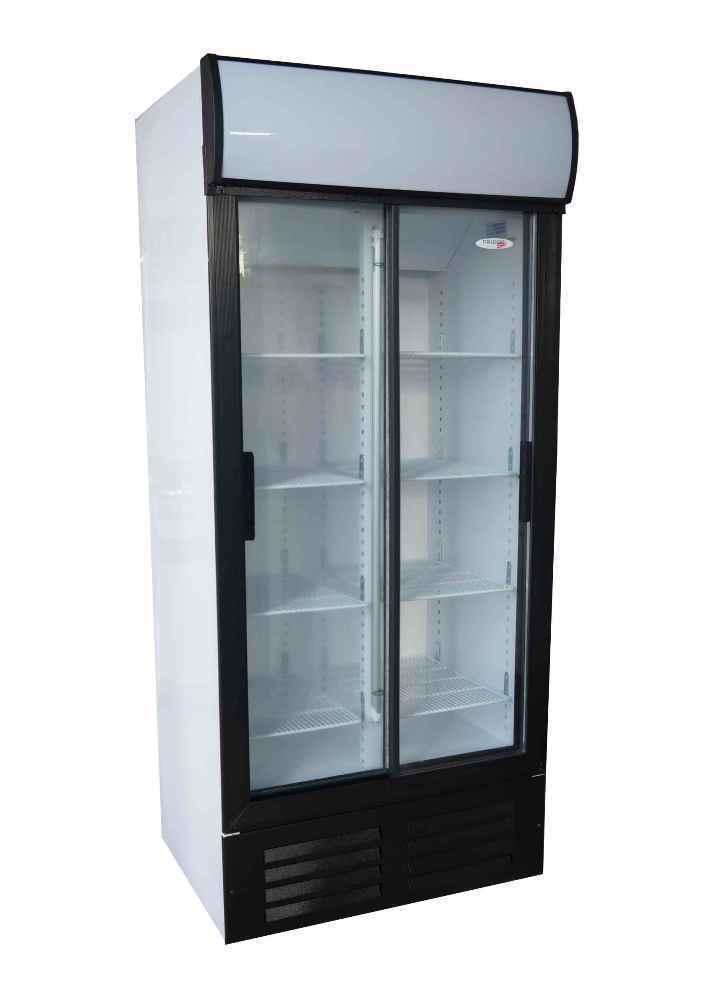 Fridge Star 580lt Double Door Sliding Beverage Cooler