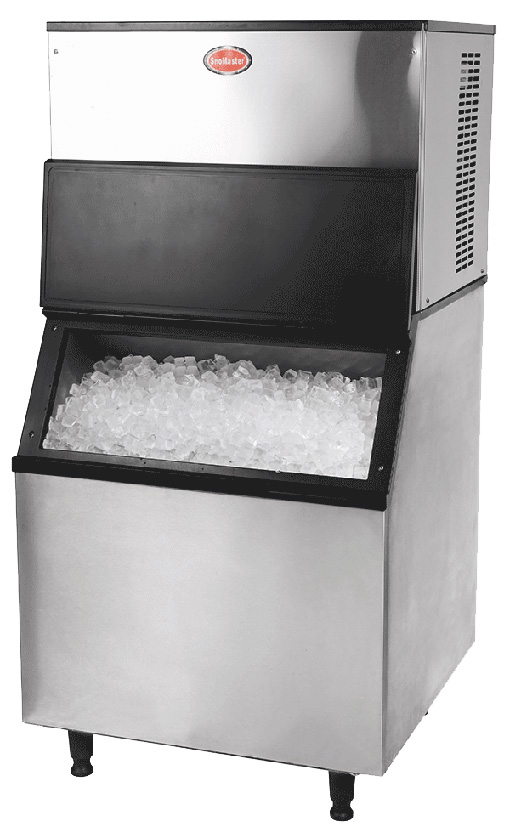 450kg Commercial Automatic Ice Machine Direct Cooling