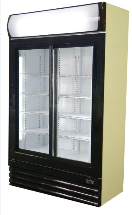 Dc800sd 800lt Double Door Sliding Beverage Cooler Free