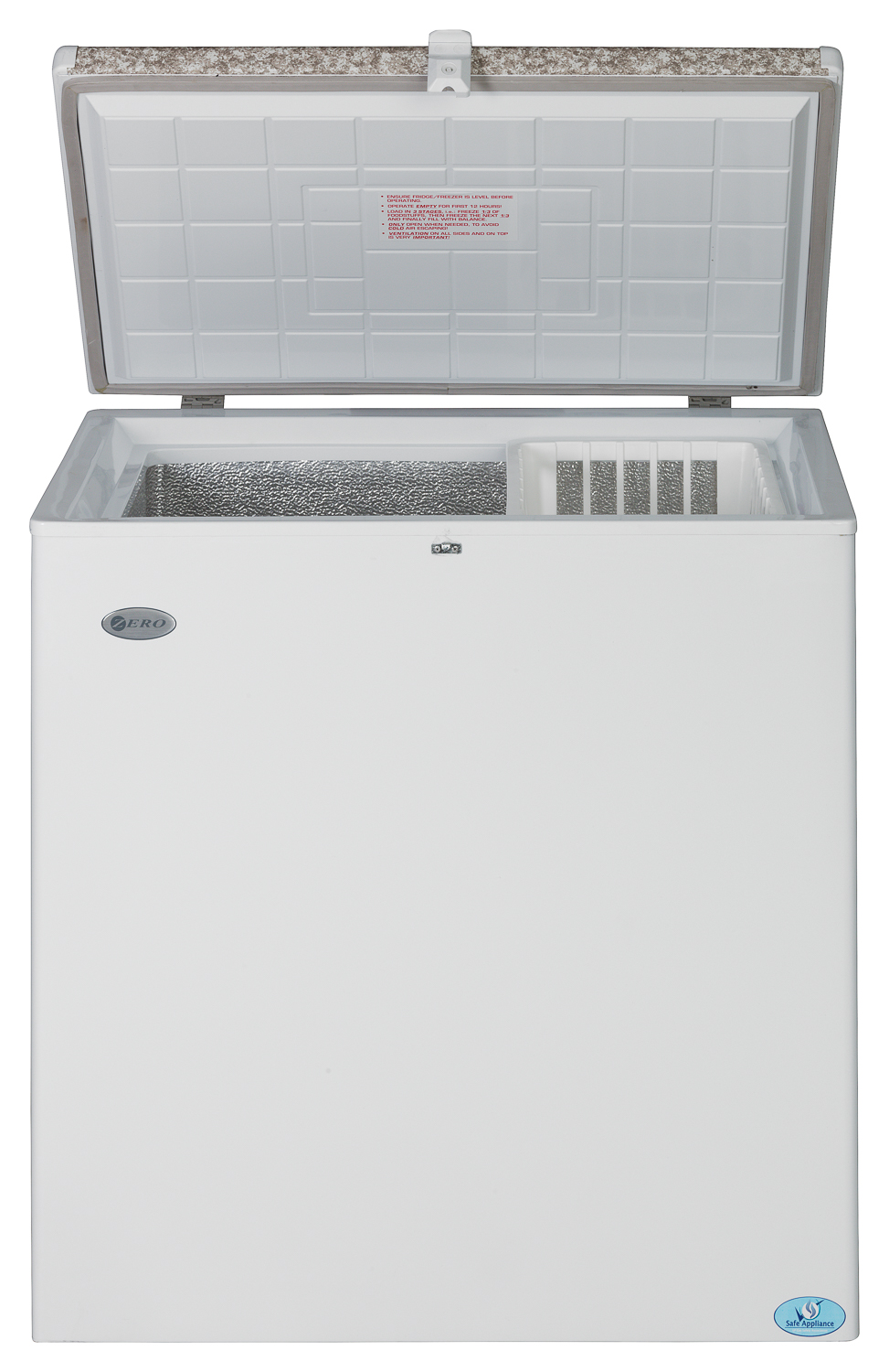 180l Gas Electric Chest Freezer Direct Cooling