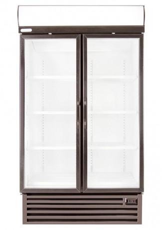 Hd1140f 739lt Double Glass Door Freezer With Temperature