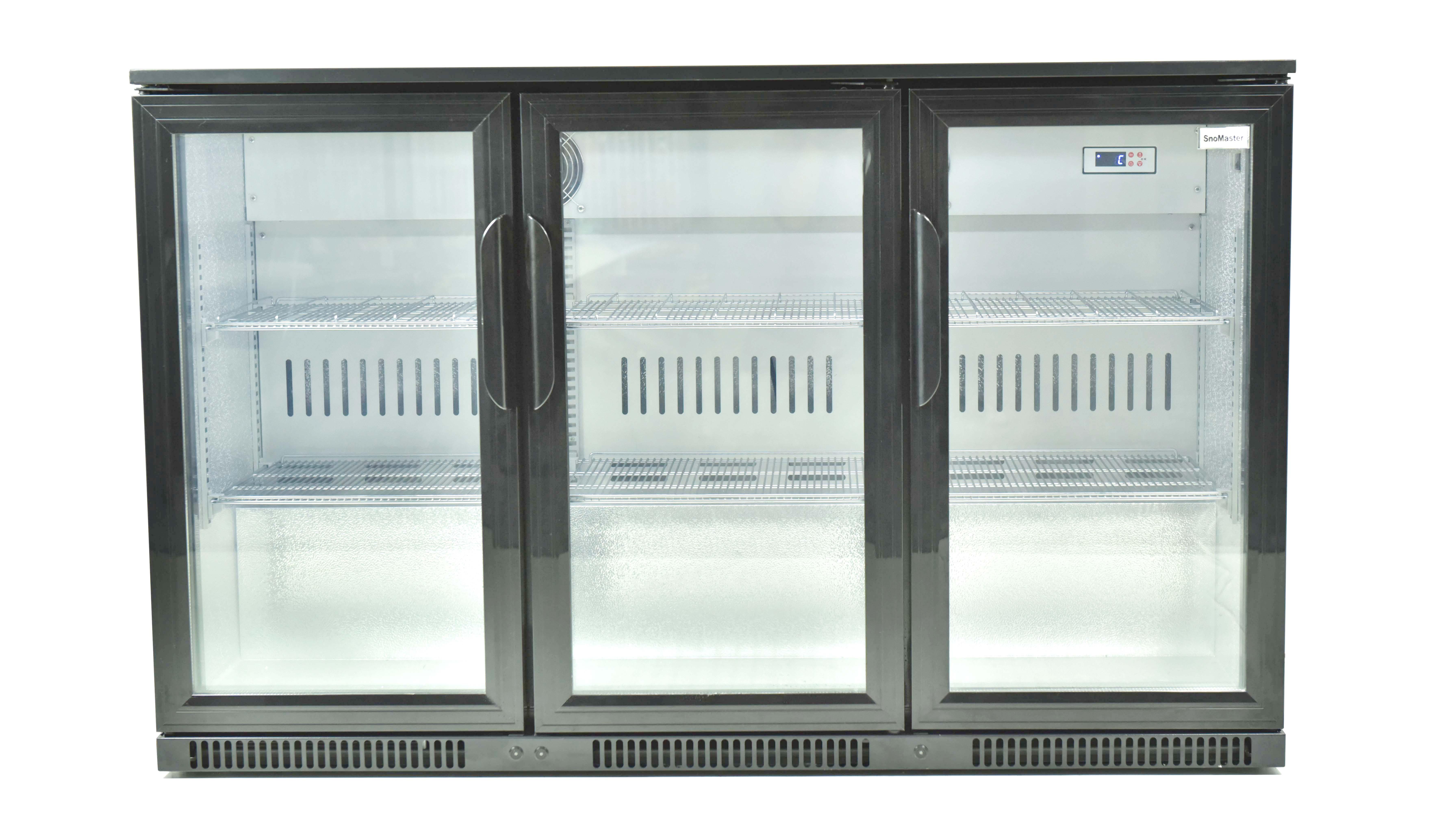 Snomster 3 Door Under Bar Fridge Direct Cooling