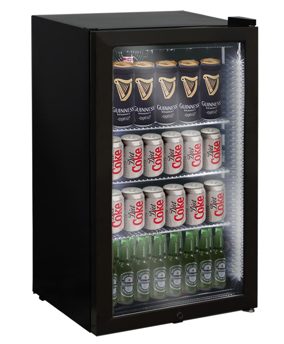 Snomaster Sm100 95lt Single Door Beverage Cooler With Led