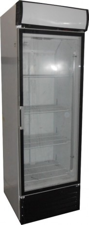 EH650  450lt Single Glass Door Beverage Cooler