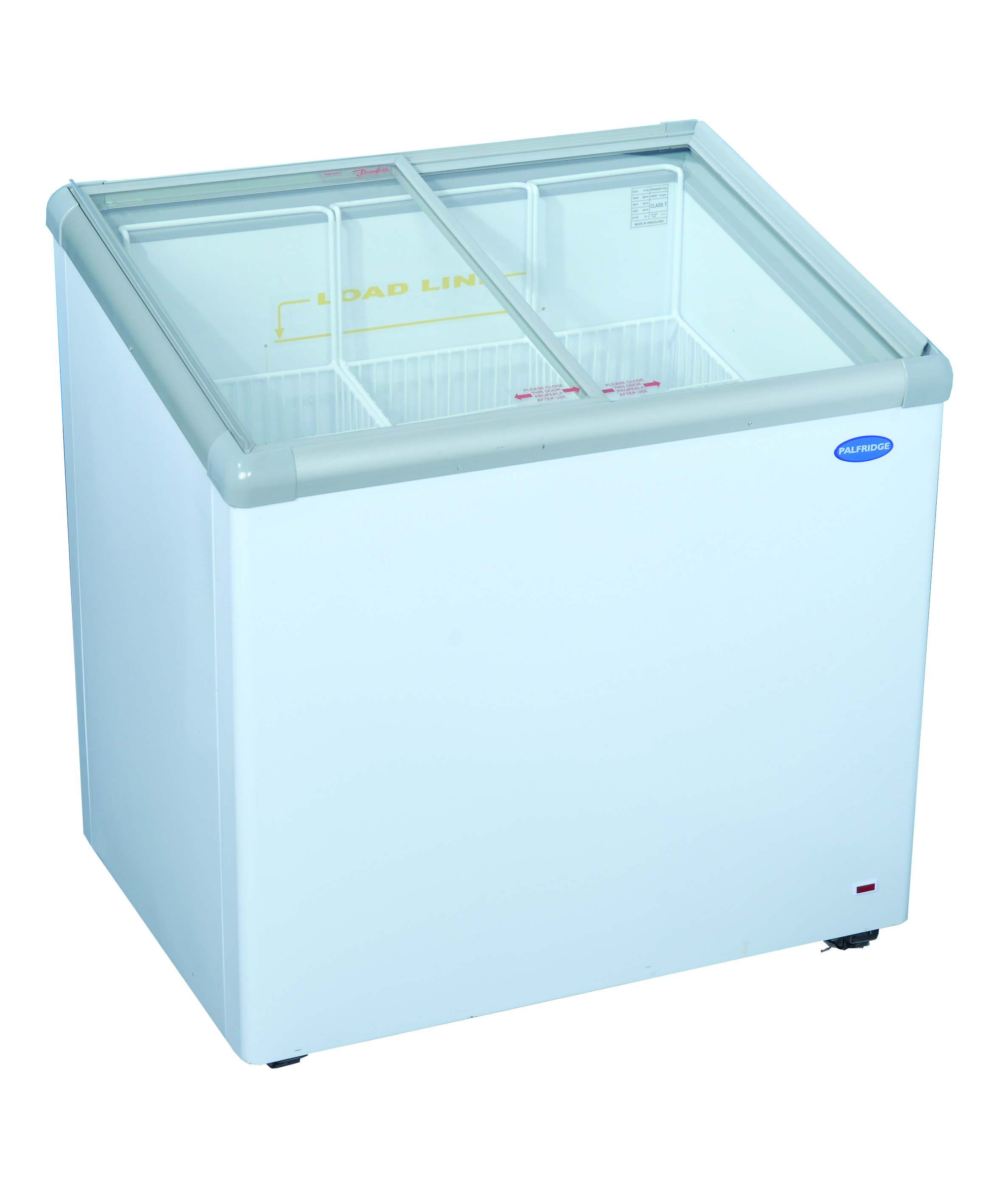 Fridge Star Model Vi202 L Glass Top Ice Cream Freezer