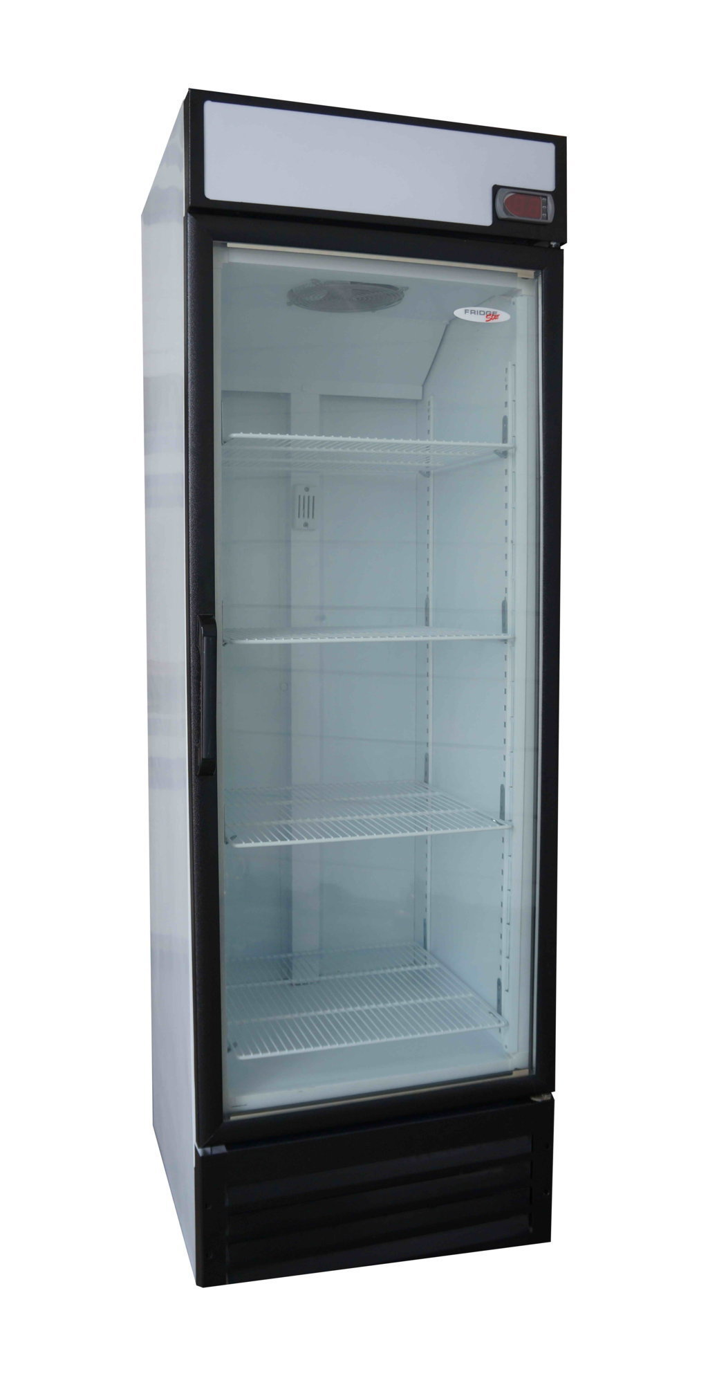 Fridge Star 420lt Glass Door Freezer Direct Cooling