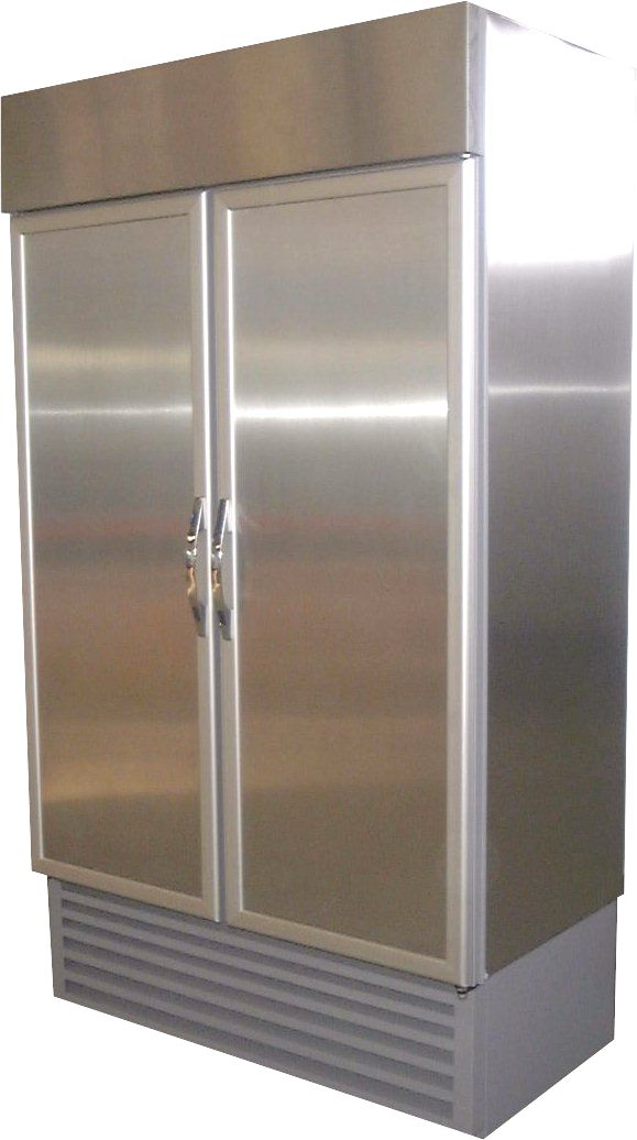 740lt Double Door S S Freezer Direct Cooling