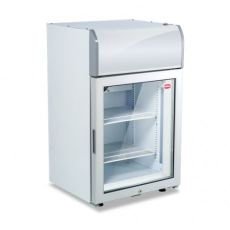 SMCTB100FF 70l Counter top Display Freezer with LED lights