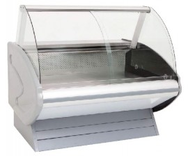 CGM1220SC 1.2m Curved Glass Meat Display Chiller