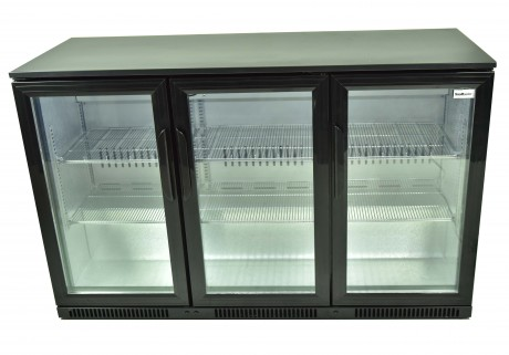 Snomster 3 Door Under Bar Fridge Direct Cooling