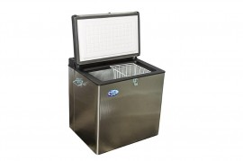 DC70GES 70lt 3 Way Portable Stainless Steel Camping Freezer