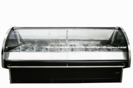 CGM1830SC 1.8m Curved Glass Meat Display Fridge