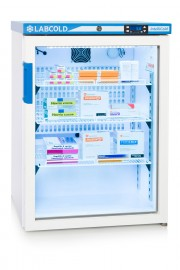 RLDG0519 150lt Under Counter Glass Door Pharmacy Fridge with IntelliCold®Touch screen Controller