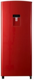 H230RRE-WD 179LT Single Door Red Fridge with Water Dispenser