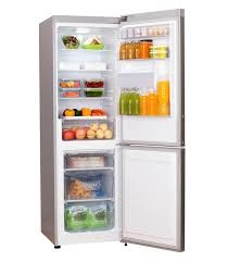 H359BME  270lt Bottom Freezer-Fridge Combi (Metallic)