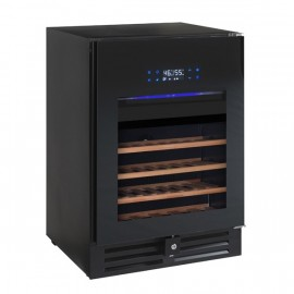 VT-46PRO   Dual Zone Wine Chiller with Blue LED Lighting